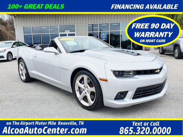 """2015 Chevrolet Camaro SS 2dr Convertible w/2SS Leather/Navigation/20"""""""