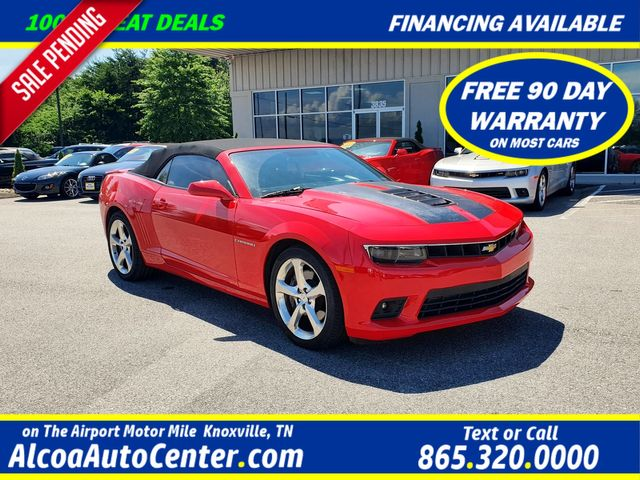 "2015 Chevrolet Camaro 2SS 2dr Convertible Leather/Boston/20"" Alloys"