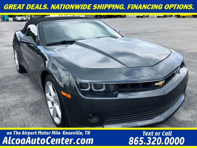 """2015 Chevrolet Camaro LT Convertible RS Package MyLink 20"""" Alloys"""
