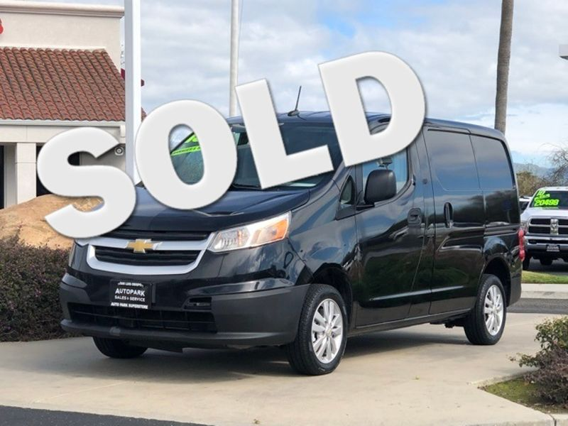 2015 Chevrolet City Express Cargo Van LT   San Luis Obispo, CA   Auto Park Sales & Service in San Luis Obispo CA