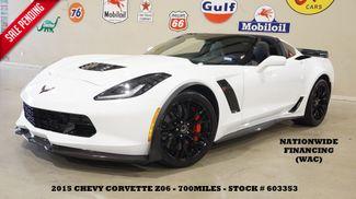 2015 Chevrolet Corvette Z06 Coupe AUTO,3LZ,Z07 PKG,CARBON PKG,733 MILES in Carrollton TX, 75006