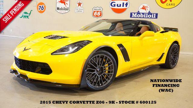 2015 Chevrolet Corvette Z06 3LZ MSRP 105K,7 SPD,Z07 PKG,9K in Carrollton, TX 75006