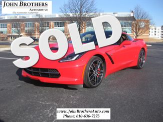 2015 Sold Chevrolet Corvette Z-51 Z51 2LT Conshohocken, Pennsylvania