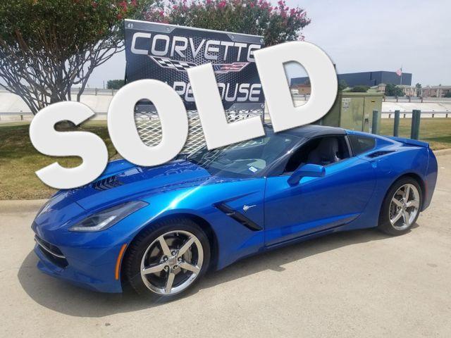 2015 Chevrolet Corvette Coupe 3LT Auto, Glass, NAV, NPP, UQT, Chromes 48k! | Dallas, Texas | Corvette Warehouse  in Dallas Texas