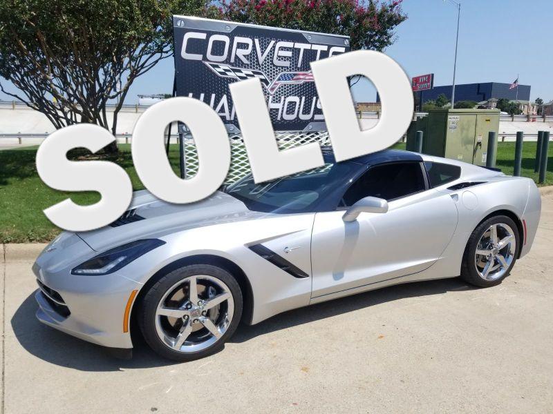 2015 Chevrolet Corvette Coupe Auto, NAV, NPP, UQT, Chromes Only 21k!   Dallas, Texas   Corvette Warehouse