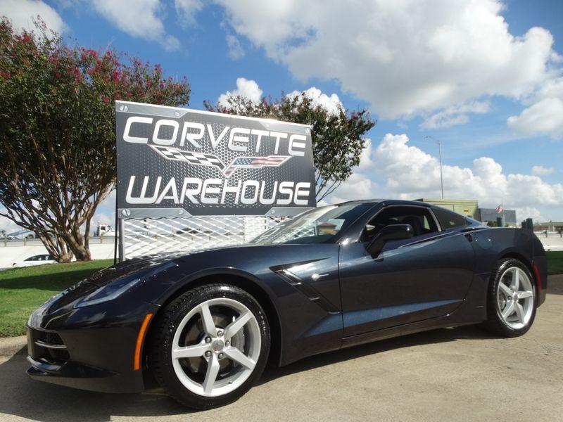2015 Chevrolet Corvette Coupe Manual, 1LT, Alloy Wheels, Night Race Blue! | Dallas, Texas | Corvette Warehouse