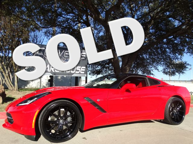 2015 Chevrolet Corvette Coupe Auto, Glass Top, Black Alloys! | Dallas, Texas | Corvette Warehouse  in Dallas Texas