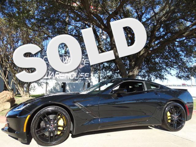2015 Chevrolet Corvette Coupe Z51, FE4, NAV, NPP, Black Wheels 10k! | Dallas, Texas | Corvette Warehouse  in Dallas Texas