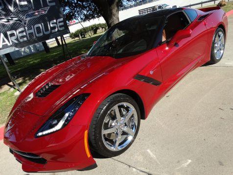 2015 Chevrolet Corvette Coupe 2LT, Auto, NAV, NPP, Glass Top, Chromes 9k! | Dallas, Texas | Corvette Warehouse  in Dallas, Texas