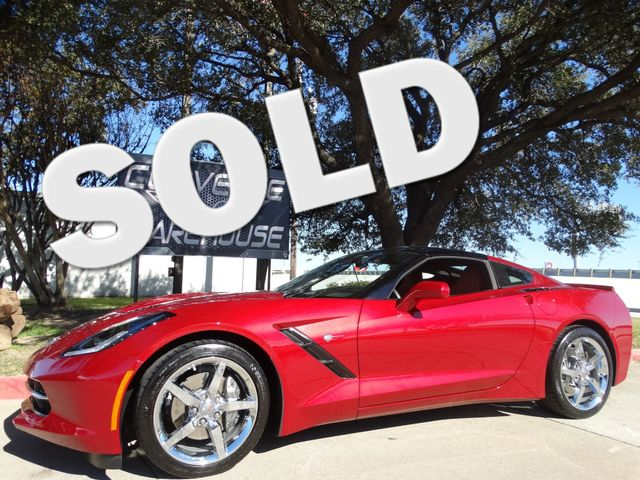 2015 Chevrolet Corvette Coupe 2LT, Auto, NAV, NPP, Glass Top, Chromes 9k! | Dallas, Texas | Corvette Warehouse  in Dallas Texas