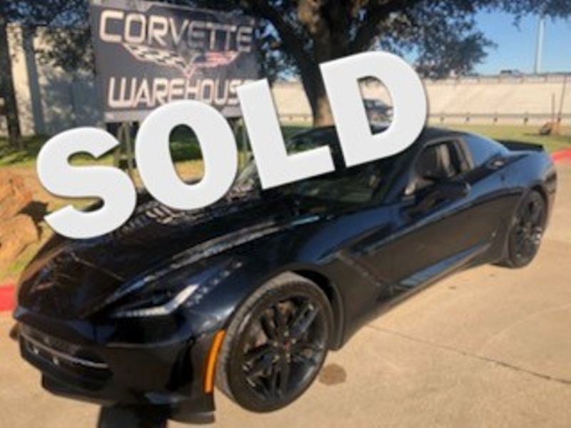 2015 Chevrolet Corvette Coupe Z51, 3LT, NAV, NPP, Black Wheels, NICE! | Dallas, Texas | Corvette Warehouse