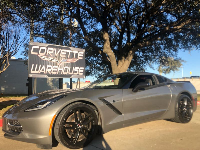 2015 Chevrolet Corvette Coupe Z51, 3LT, FE4, NAV, Auto, Black Wheels!   Dallas, Texas   Corvette Warehouse