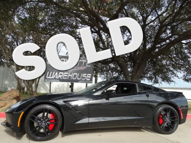 2015 Chevrolet Corvette Coupe Z51, 3LT, NAV, FE4, NPP, Black Alloys, 12k! | Dallas, Texas | Corvette Warehouse  in Dallas Texas