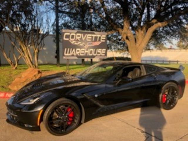 2015 Chevrolet Corvette Coupe Z51, 3LT, FE4, NAV, NPP, Black Alloys 8k! | Dallas, Texas | Corvette Warehouse  in Dallas Texas