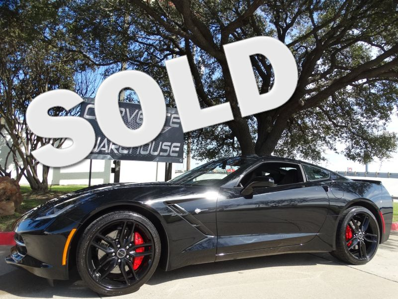 2015 Chevrolet Corvette Coupe Z51, 3LT, FE4, NAV, NPP, Black Alloys 8k! | Dallas, Texas | Corvette Warehouse