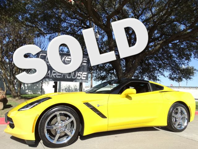 2015 Chevrolet Corvette Coupe 2LT, Auto, NAV, UQT, Chrome Wheels Only 30k! | Dallas, Texas | Corvette Warehouse  in Dallas Texas