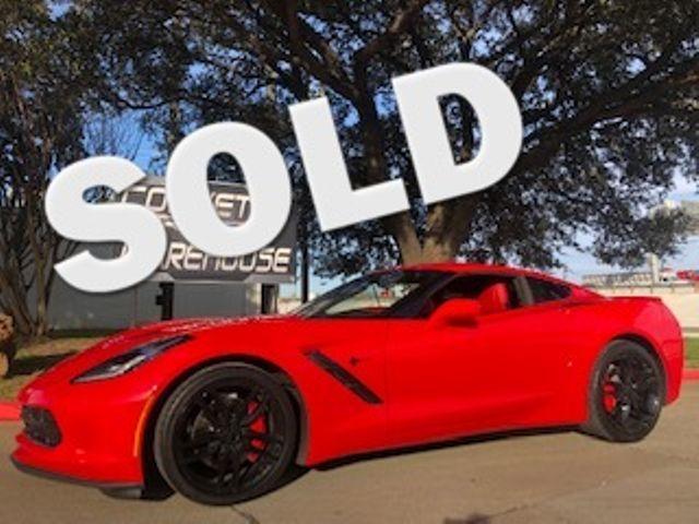 2015 Chevrolet Corvette Coupe 3LT,  NAV, NPP, ZF1 Pkg, Black Alloys 19k! | Dallas, Texas | Corvette Warehouse  in Dallas Texas