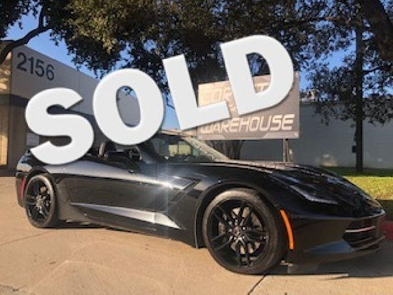 2015 Chevrolet Corvette Convertible Z51, 3LT, NAV, NPP, FE4, Auto, NICE! | Dallas, Texas | Corvette Warehouse