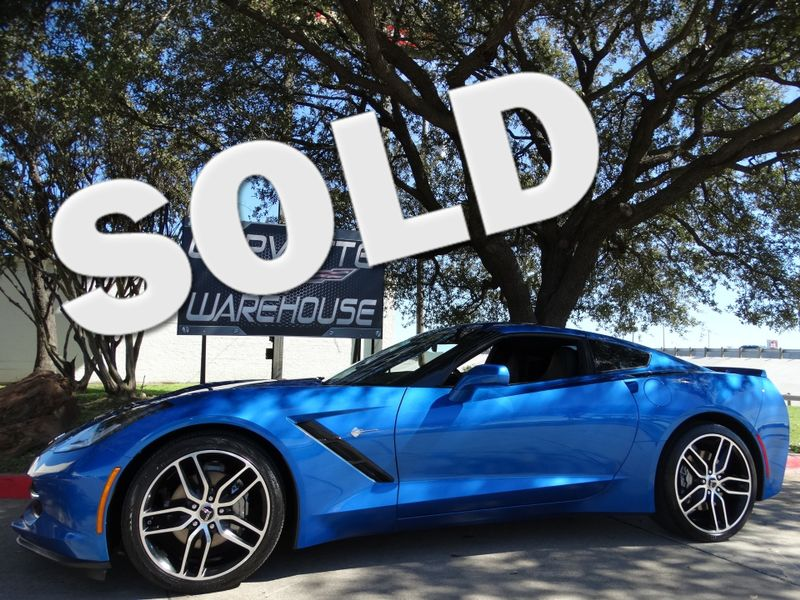 2015 Chevrolet Corvette Coupe 2LT, Auto, NPP, Black Wheels 71k | Dallas, Texas | Corvette Warehouse