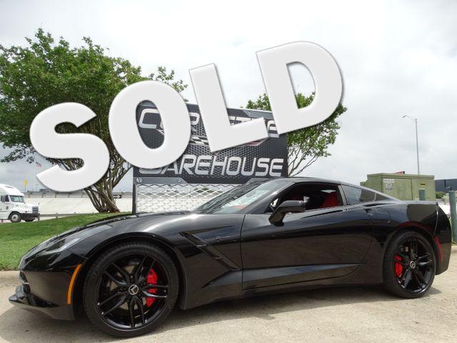 2015 Chevrolet Corvette Coupe 3LT, Auto, NAV, NPP, Black Wheels, Only 22k! | Dallas, Texas | Corvette Warehouse  in Dallas Texas