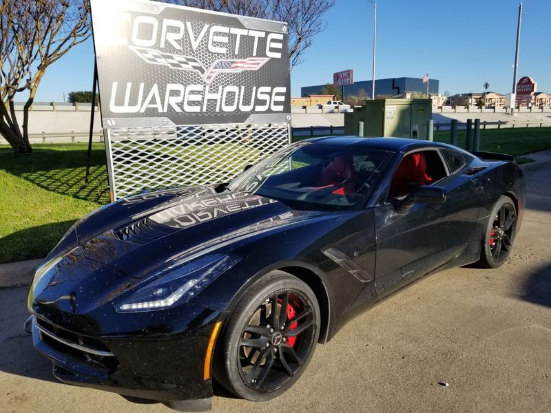2015 Chevrolet Corvette Coupe 3LT, Auto, NAV, NPP, Black Wheels, Only 22k! | Dallas, Texas | Corvette Warehouse