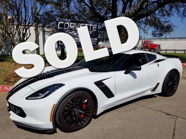 2015 Chevrolet Corvette Z06 3LZ, 7-Speed, NAV, NPP, Black Alloys, NICE! | Dallas, Texas | Corvette Warehouse  in Dallas Texas