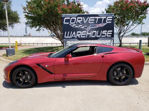 2015 Chevrolet Corvette Coupe 2LT, Auto, Nav, NPP, Black Alloys Only 22k! | Dallas, Texas | Corvette Warehouse  in Dallas, Texas