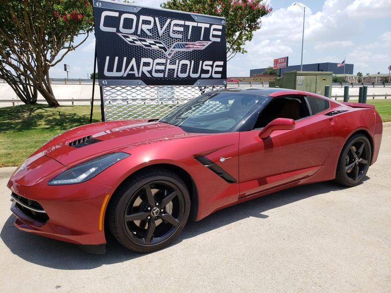 2015 Chevrolet Corvette Coupe 2LT, Auto, Nav, NPP, Black Alloys Only 22k! | Dallas, Texas | Corvette Warehouse