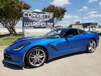 2015 Chevrolet Corvette Coupe Z51 3LT, Auto, NAV, NPP, UQT, Chromes 38k! | Dallas, Texas | Corvette Warehouse  in Dallas Texas