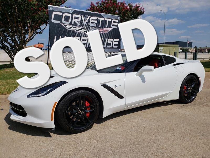 2015 Chevrolet Corvette Coupe 3LT, NAV, NPP, ZF1 Pkg, Black Alloys 12k!    Dallas, Texas   Corvette Warehouse
