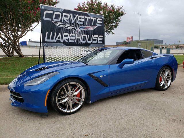 2015 Chevrolet Corvette Coupe Z51, 3LT, NAV, NPP, AE4, Chromes 73k! | Dallas, Texas | Corvette Warehouse  in Dallas Texas