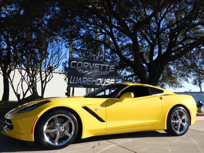 2015 Chevrolet Corvette Coupe Auto, NAV, NPP, Chrome Wheels, Only 12k! | Dallas, Texas | Corvette Warehouse