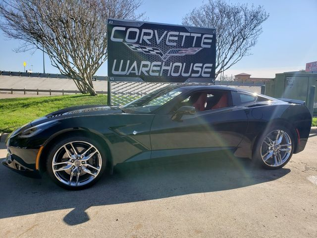 2015 Chevrolet Corvette Coupe Z51, 2LT, Auto, NPP, 1-Owner, Chromes 9K! | Dallas, Texas | Corvette Warehouse  in Dallas Texas