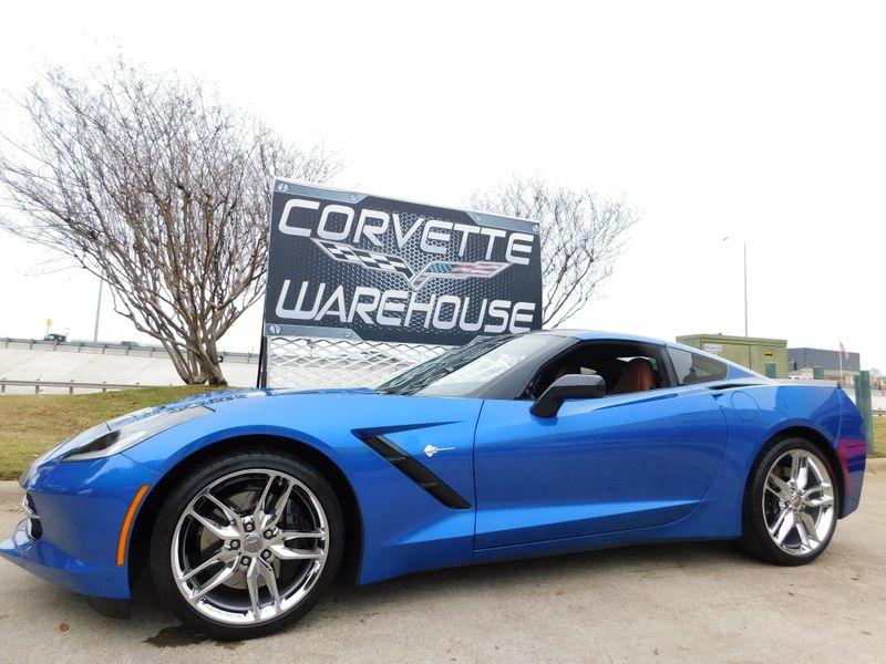 2015 Chevrolet Corvette Coupe Z51, 2LT, NAV, FE4, NPP, Auto, Chromes 19k! | Dallas, Texas | Corvette Warehouse