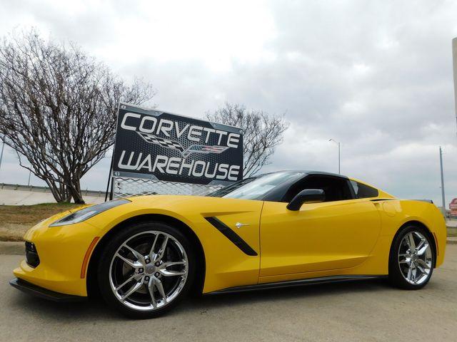 2015 Chevrolet Corvette Coupe Z51, 3LT, NAV, NPP, 1WE, Auto, Chromes 11k