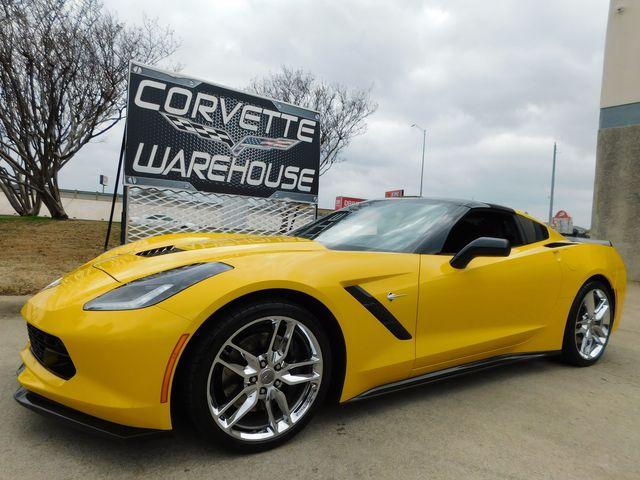 2015 Chevrolet Corvette Coupe Z51, 3LT, NAV, NPP, 1WE, Auto, Chromes 11k in Dallas, Texas 75220