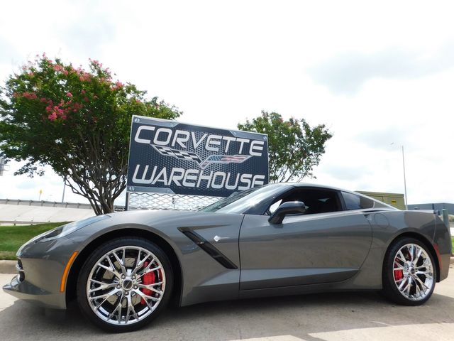 2015 Chevrolet Corvette Coupe Z51, 3LT, NAV, NPP, 1WE, ZR1 Chromes 17k