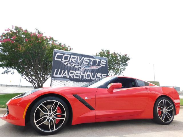2015 Chevrolet Corvette Coupe Z51, 3LT, NAV, NPP, 1WE, Auto, Alloys 26k in Dallas, Texas 75220