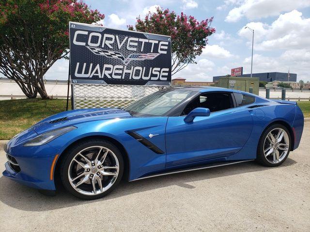 2015 Chevrolet Corvette Coupe Z51, 3LT, NAV, NPP, AE4, Auto, Chromes 16k