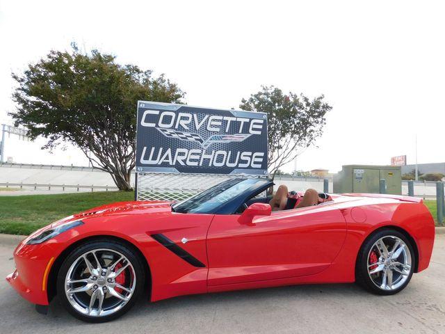 2015 Chevrolet Corvette Convertible 2LT, NAV, NPP, Auto, Chrome Wheels 7k