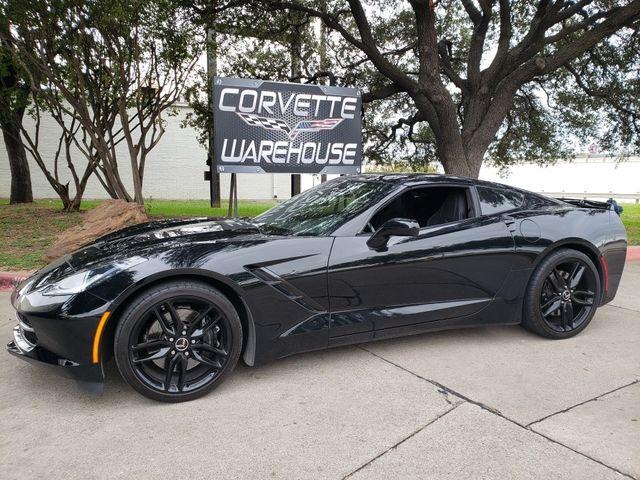 2015 Chevrolet Corvette Coupe Z51, 3LT, NAV, NPP, Auto, Black Alloys 45k in Dallas, Texas 75220