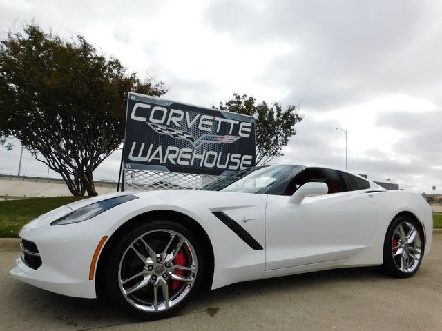 2015 Chevrolet Corvette Coupe Z51, 2LT, NAV, NPP, 7-Speed, Chromes 4k in Dallas, Texas 75220