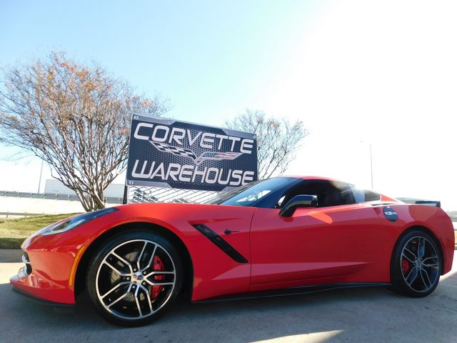 2015 Chevrolet Corvette Coupe Z51, 3LT, NAV, NPP, AE4, Black Alloys 9k