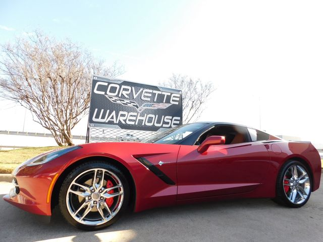 2015 Chevrolet Corvette Coupe 2LT, ZF1 Pkg, NAV, NPP, Chromes, Glass Top in Dallas, Texas 75220