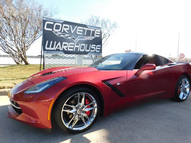 2015 Chevrolet Corvette Coupe 2LT, ZF1 Pkg, NAV, NPP, Chromes, Glass Top in Dallas, Texas 75220