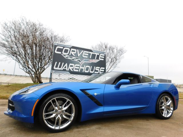 2015 Chevrolet Corvette Coupe Z51, 2LT, 7-Speed, Mylink, Chromes, 16k