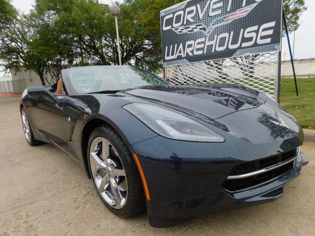 2015 Chevrolet Corvette Convertible 2LT, NAV, UQT, Chromes, Auto, Only 2k in Dallas, Texas 75220