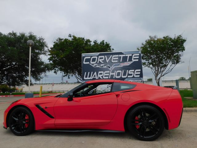 2015 Chevrolet Corvette Coupe Z51, 2LT, FE4, PDR, NAV, NPP, Blk Alloys 32k in Dallas, Texas 75220