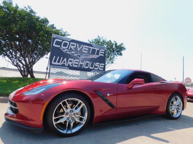 2015 Chevrolet Corvette Coupe ZF1, 2LT, NAV, PDR, NPP, Auto, Chromes 16k