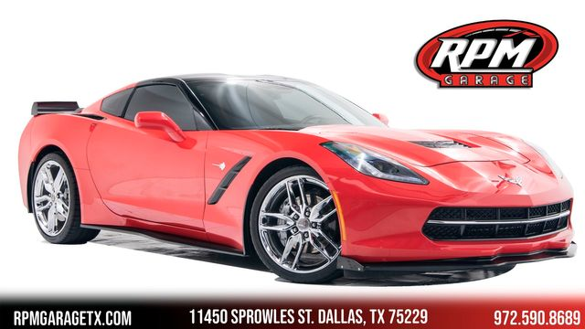 2015 Chevrolet Corvette 3LT Supercharged with Many Upgrades